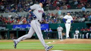 Houston Astros' Marwin Gonzalez Texas Rangers starting pitcher Kohei Arihara