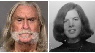 Left: Booking photo of murder suspect Carlin Edward Cornett. Right: An undated image of Christy Ellen Bryant.