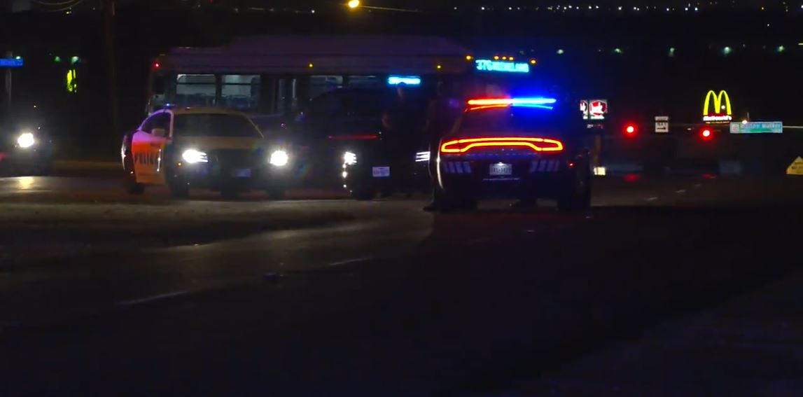 Dallas Police Officer Reports Being Shot at During Overnight Traffic Stop