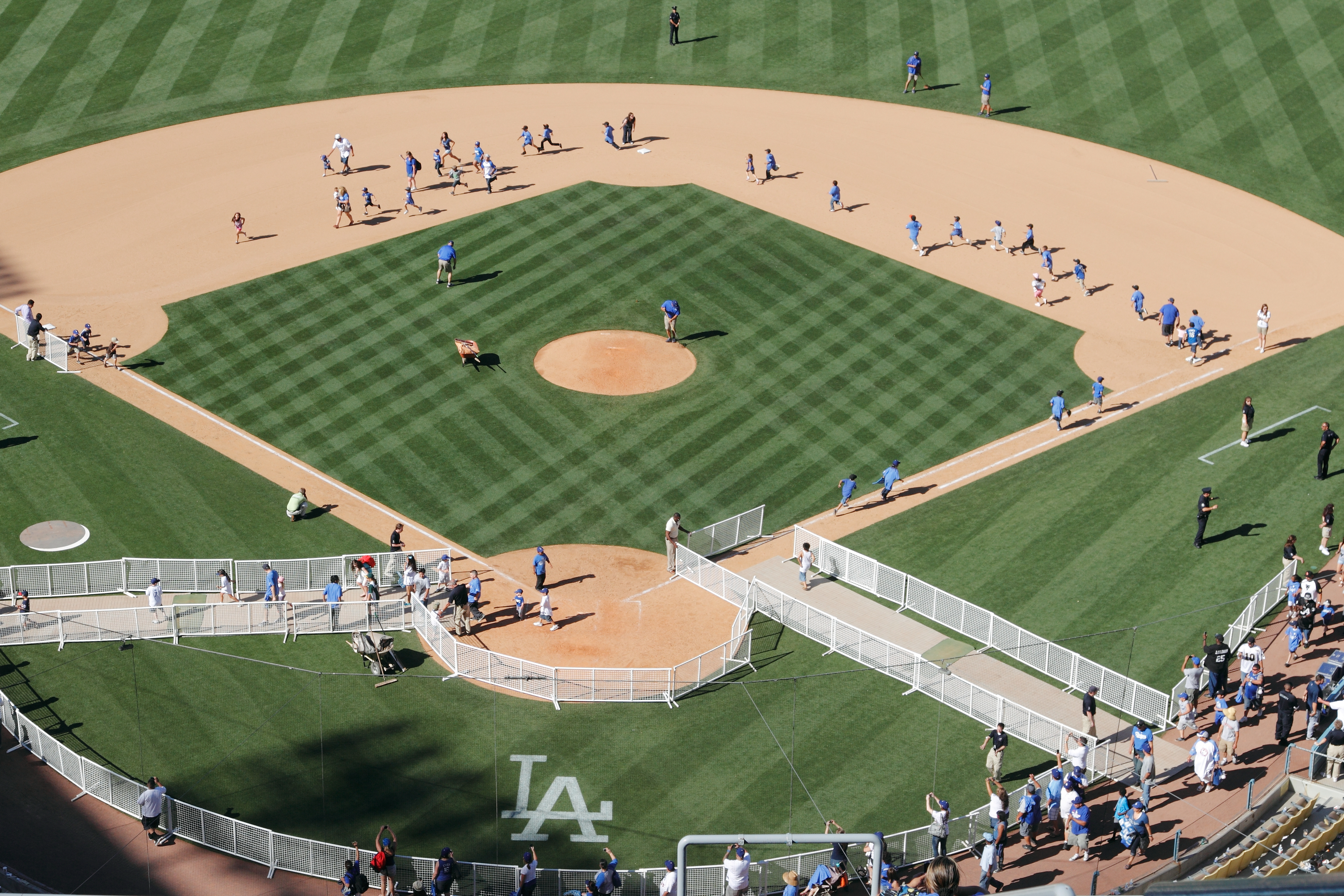 See How Robots Allowed Pediatric Patients to 'Run the Bases' at Dodger Stadium