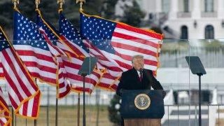 President Trump Speaks At Save America Rally