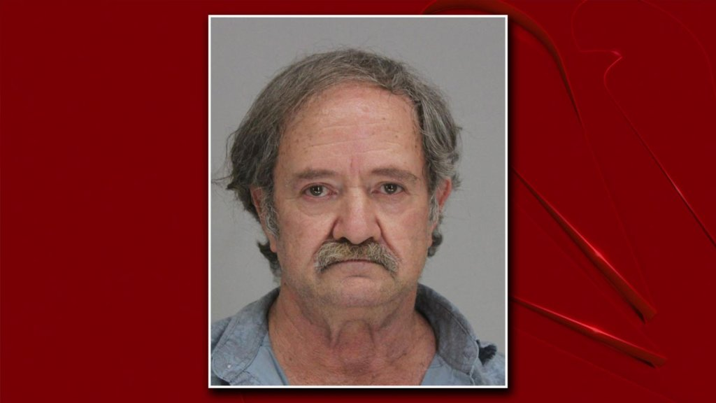 Henry Fahrlander, 64, faces two charges after police say he drove into a marked squad car Saturday night.