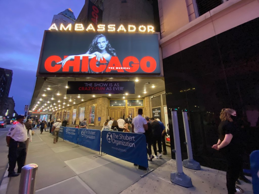 Broadway production of Chicago