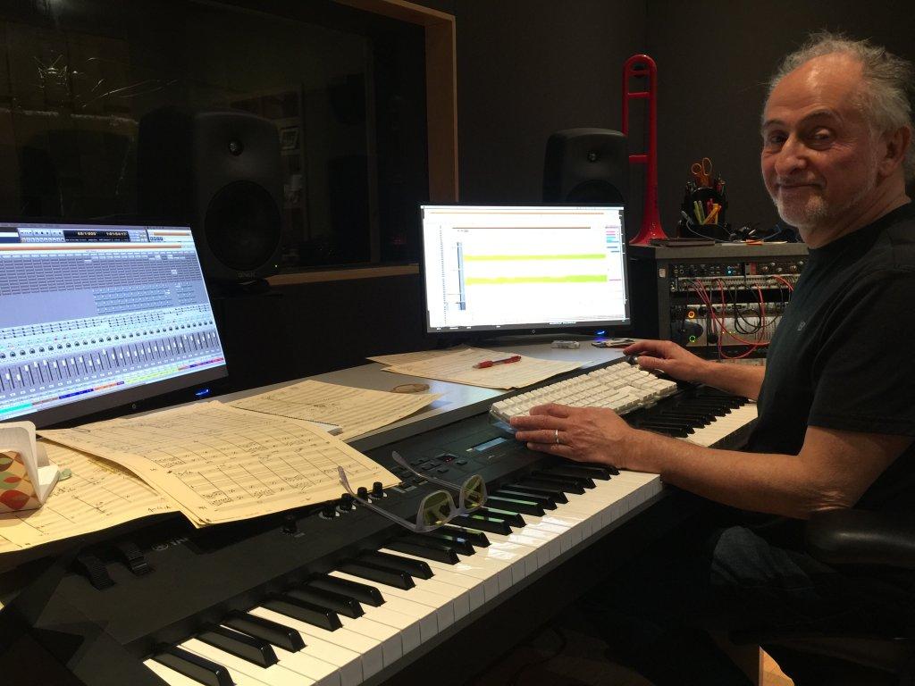 Mark Menza in studio Negotiating Dialogues