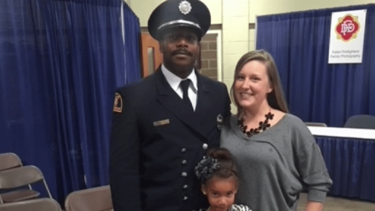 WATCH: Family of Intubated Dallas Firefighter Asks for Prayers With Third Child Weeks Away