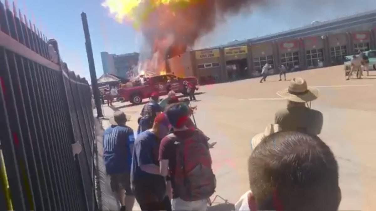 Video Captures Propane Explosion at Texas Motor Speedway
