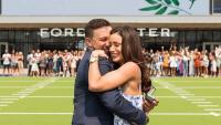 Dallas Cowboys Cheerleader's Engagement Video Goes Viral