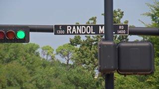 randol mill road sign