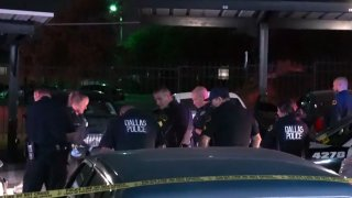 Two people were killed and a man was wounded in a shooting early Sunday in west Oak Cliff, Dallas police say.