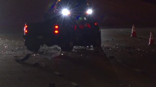 Police in Fort Worth are investigating a wrong-way crash that killed one person Thursday night.