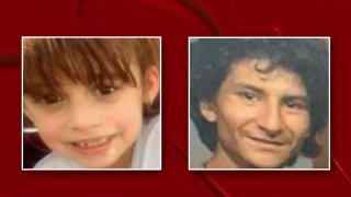 An Amber Alert was issued in Lubbock early Wednesday morning for 6-year-old Addilynn Carter (left), who the Lubbock County Sheriff's Office alleges was abducted by 23-year-old Michael Luitjens (right).