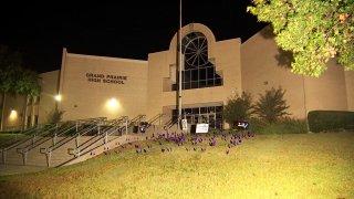 Grand Prairie High School on Monday, Oct. 4, 2021.