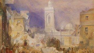 Kimbell Art Museum - Turner's Modern World Exhibit