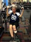 [UGCDFW-CJ-blue star]therapy at gym