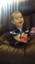 [UGCDFW-CJ-blue star]Andrew Martinez 10 Months old