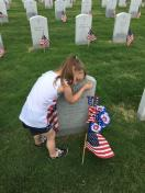 [UGCDFW-CJ-holiday]Honoring her Hero on Memorial Day