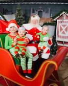 [UGCDFW-CJ-holiday]DEVIN TWINS PLUS ONE & Santa