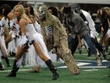 Cowboys Cheerleaders Dress for Halloween