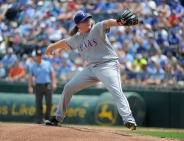 Solid Outing by Griffin a Positive Sign for Rangers