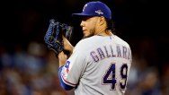 Gallardo Pitching