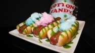 The Sweet Spot Cotton Candy Dog