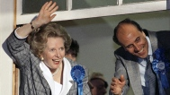 Thatcher Claims Victory