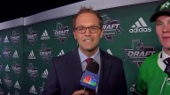 Pat Doney Sits Down With The Stars First Round Pick