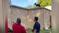Roofing Project Turns Into Dog Rescue