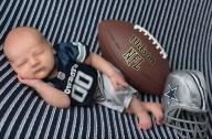 [UGCDFW-CJ-sports]Silver and Blue Newborn Photo