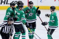 Ritchie, Comeau, Faksa Score, Stars Beat 1st-Place Jets