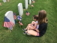 [UGCDFW-CJ-holiday]Honoring their daddy on Memorial Day