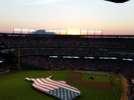[UGCDFW-CJ-weather]Sunset over Globe Life Park