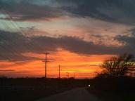 [UGCDFW-CJ-texas sunsets]Sunset in Oak point