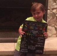[UGCDFW-CJ-back to school]grandson Karson wants to be a weatherman