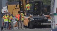 Final Victims Removed From Under Fallen Pedestrian Bridge