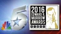 NBC 5 Wins 4 Regional Edward R. Murrow Awards