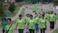 BAPS Charities Walk Green 2019