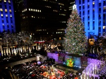 The Holiday Season Is Here! Rockefeller Tree Is Lit