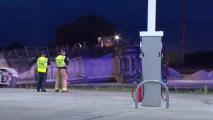 Wreck Shuts Down U.S. 380 in Denton