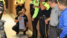 Amarillo Officers Escort Fallen Officer's Kids to School