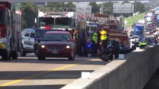 18-Wheeler Collides with 5 Motorcycles on I-20