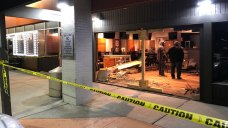 1 Injured When Car Crashes Into Hooters Restaurant