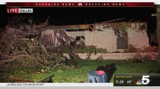 Family Survives After Severe Storm Rips Apart Home