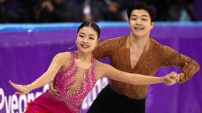 Americans Eye Podium After Short Dance