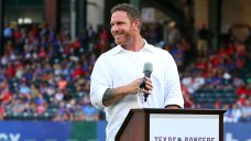 Hamilton Inducted Into Rangers Hall in 1st Trip Back to Park