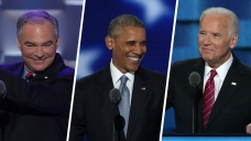 DNC: Obama Boosts Clinton, Kaine Mocks Trump