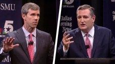 Sparks Fly in First Cruz, O'Rourke Debate