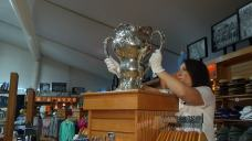 Rare Olympic Trophy on Display at the Colonial Country Club