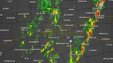 Live Radar: Storms Moving Across North Texas