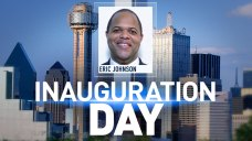 Eric Johnson, Dallas City Council Sworn In
